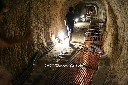 Evpalineio Aqueduct Samos