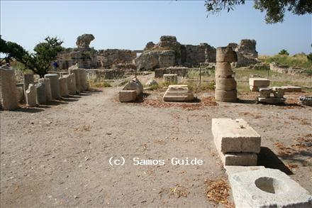 Excavations in Samos